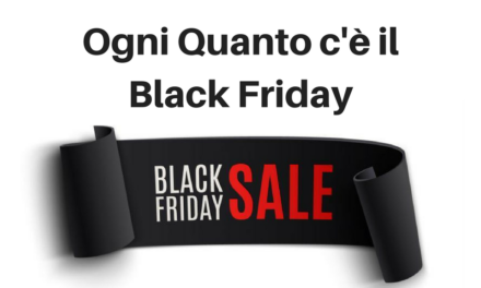 Ogni quanto c'è il Black Friday