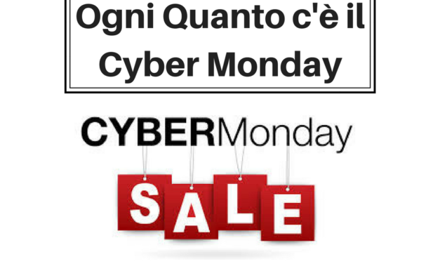 Ogni Quanto c'è il Cyber Monday